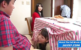 Japanese Family Afairs. Stepmom Together with Son