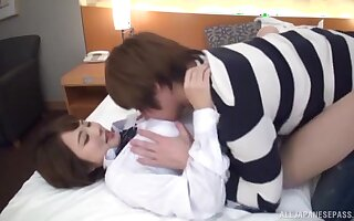 Emaciate Japan handsomeness enjoys a good fuck with a younger man