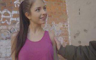 Italian hottie Rebecca Volpetti first anal dealings on camera!