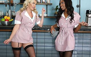 Seducing My Straight White Best Friend! - Adira Allure & Lacey London