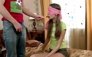Cute Russian girlfriend June A gives tripper and gets fucked indestructible