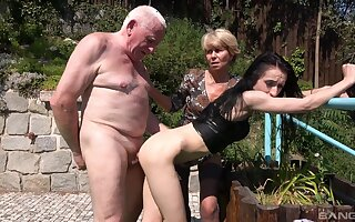 Lori and Lisa B. advantage of in a rough and extraordinary threeway