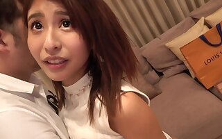 Asian cute babe loves to fuck day after day