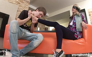 Best friend with big interior Leena allows to penetrate anal crevice