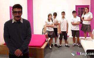 An orgy back sexual failed students!