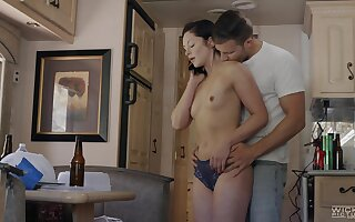 Lovely Petra Blair gets to enjoy heated sex with a hunk