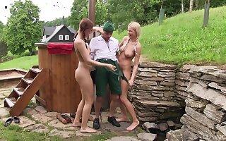 Lean dude gets his dick magical by Karol Lilien & Morgan Rodriguez